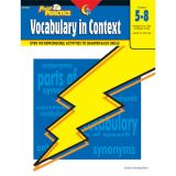 Power Practice™ Vocabulary in Context, Grades 5-8