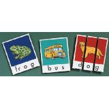 Phonics Word Building Puzzles, Set 1