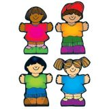 Colorful Cut-Outs, Kids