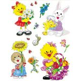 Suzy's Zoo Spring Window Cling