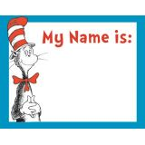 Cat in the Hat™ Name Tags