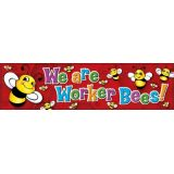 Be a Worker Bee Horizontal Banner
