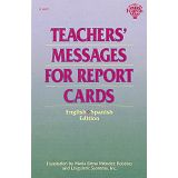 Teacher's Messages for Report Cards, English/Spanish