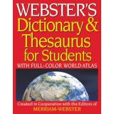 Webster's Dictionary & Thesaurus for Students