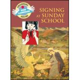 Signing at Sunday School