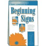 Sign Language Flip Charts: Beginning Signs