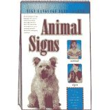 Sign Language Flip Charts: Animal Signs