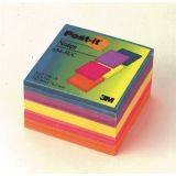 Post-it Notes in Ultra Colors, 3 x 3, 1 pad each color spruce green, grape, yellow, fuchsia, orange