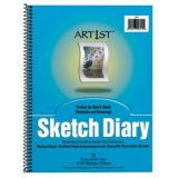 Art1st Sketch Diary, 12 x 9, 70 sheets