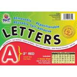 4 Self-Adhesive Letters, Red