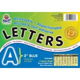 2 Self-Adhesive Letters, Blue