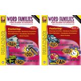 Word Families For Older Students, Set of both books