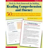 Week-By-Week Homework for Building Reading Comprehension and Fluency, Grades 3-6