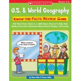 U.S. & World Geography Know-the-Facts Review Game