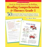 Week-by-Week Homework for Building Reading Comprehension & Fluency, Grade 1