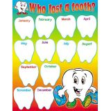 Who List a Tooth?, Classroom Organizer Learning Chart
