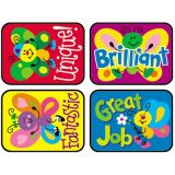 Applause Stickers, Bright Butterflies