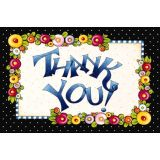 Mary Engelbreit Thank You Postcards