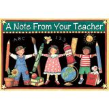 Susan Winget Note From Your Teacher Postcards