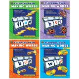 Flipping Over Making Words, Set of all 4 books