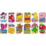 12 Welcome Signs Bulletin Board Set
