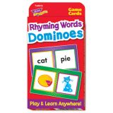 Rhyming Words Dominoes Pocket Flash Cards