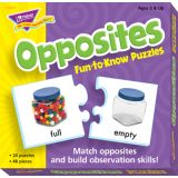 Opposites Fun-to-Know Puzzle