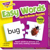 Easy Words Fun-to-Know Puzzle