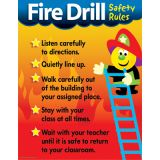 Learning Charts, Fire Drill Safety Rules
