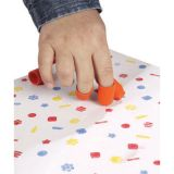 Finger Paint/Stampers, 24/pkg