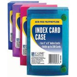 C-Line® 4 x 6 Index Card Case
