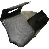 21-Pocket Legal Size Expanding File with Handle, Legal Size, 14 x 18-1/2