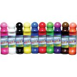 Crafty Dab, Window Writers Paint, Assorted Colors, 24mm tip, 48ml bottle, 10/pkg