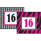 Rocker Chic Calendar Card, 36/pkg