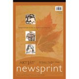 Newsprint Pad - 32 lb. - 50 sheets/pad - 12 x 18