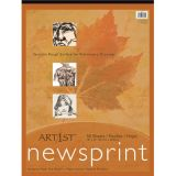 Newsprint Pad - 32 lb. - 50 sheets/pad - 18 x 24
