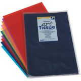 Spectra® Deluxe Art Tissue Paper, Assorted Colors, 10 Colors, 12 x 18, 50 sheets