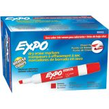 Expo® 2 Low Odor Dry Erase Marker, Chisel Tip, Red