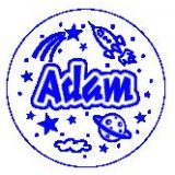 ADAM JUMBO NAME STAMP