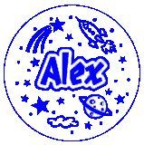 ALEX JUMBO NAME STAMP