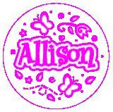 ALLISON JUMBO NAME STAMP