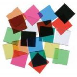 3/4 Overhead Color Tiles, 10 colours