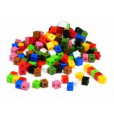 Interlocking 1cm/1g Cubes 1,000/pkg
