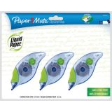 Paper Mate® Liquid Paper® Dryline® Grip Correction Tape 3/pkg