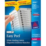 Avery® Easy Peel® Mailing Labels 4 x 1-1/3 (1,400 Labels) Laser White 100 sheets/box