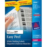 Avery® Easy Peel® Mailing Labels 4 x 1 (2,000 Labels) Laser White 100 sheets/box