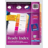 Avery® Ready Index® Table of Contents Dividers Coloured 1-5