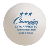 40 mm Tournament Table Tennis Ball