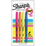 Sharpie® Pocket Highlighters Assorted Colours 4/set