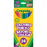 Crayola® Coloured Pencils Assorted Colours 24/set